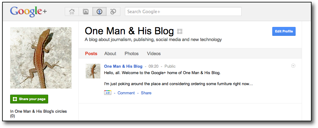Google+ Pages: the other +shoe drops