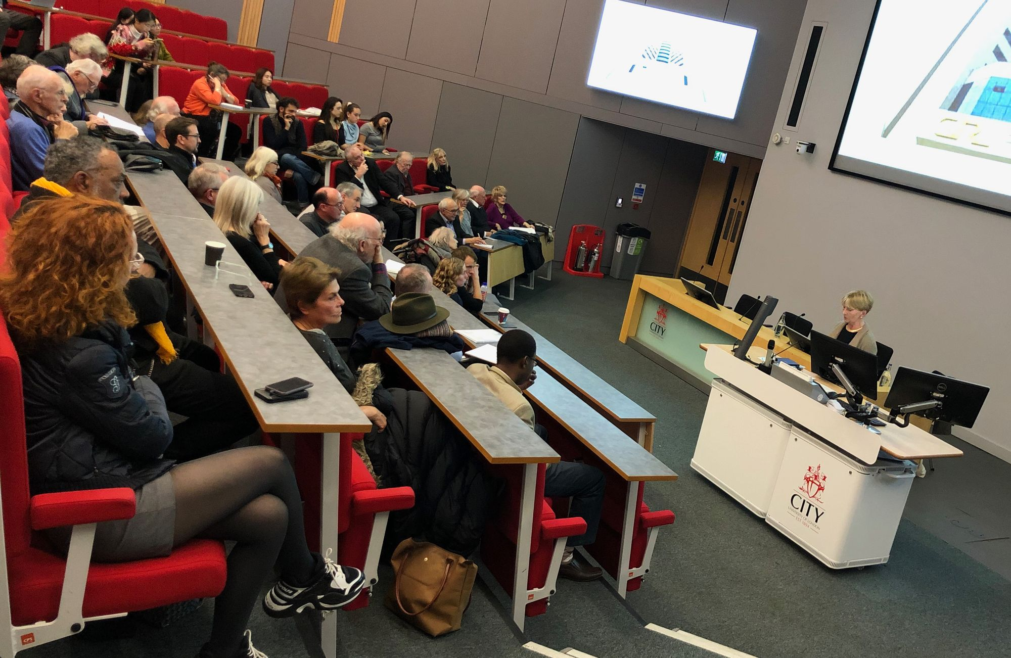 The audience at Isabel Hilton's James Cameron Memorial Lecture