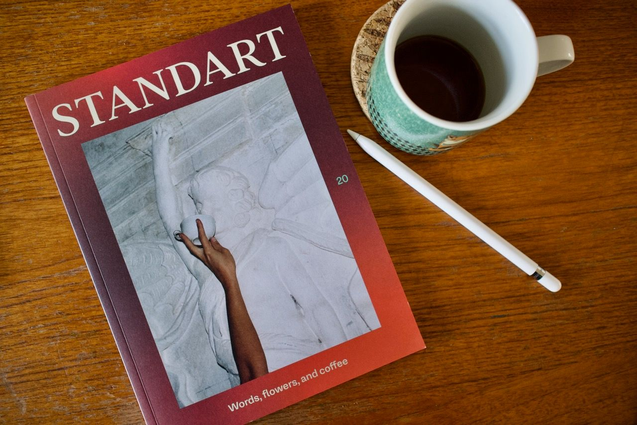 Standart magazine - an indie magazine for coffee lovers
