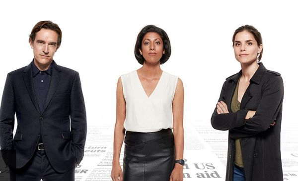 Press - a new BBC drama set in a newsroom - gets a trailer