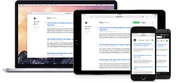 Backed: Typed, a new blogging platform