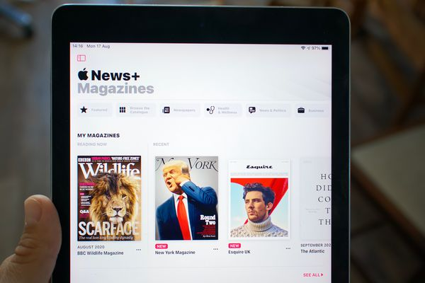 Who's afraid of the small, average Apple News+?